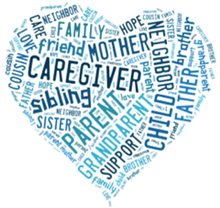 Caregivers Hub Support Group Facebook Page Logo